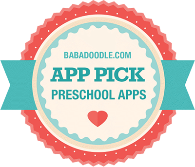 babadoodle best preschool apps for ipad badge